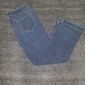 a.n.a Womens modern bootcut jeans